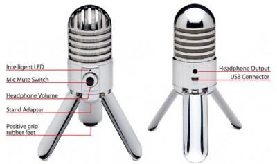 Samson Meteor USB Μικρόφωνο