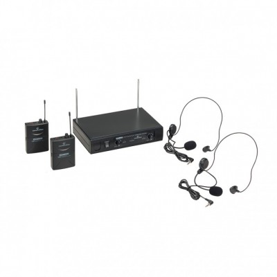 Soundsation WF-V21PP Διπλό σετ ασύρματων μικροφώνων κεφαλής